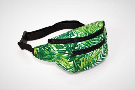 Nerka,saszetka biodrowa Palmowe Liście