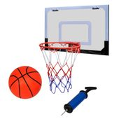 Mini zestaw do koszykówki halowej z piłką i pompką