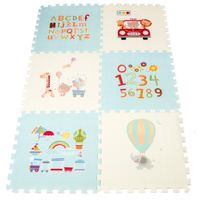Puzzle Piankowe Mata Dla Dzieci Nieb 177X118X1,3Cm
