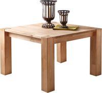 Kwadratowy stolik do salonu, lite drewno bukowe