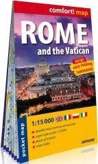 Comfort! map Rzym i Watykan 1:15 000 w.2020 praca zbiorowa