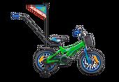 ROWER ROWEREK DZIECIĘCY BMX 14 KARBON NIKI ZIELONO-NIEBIESKI 2-5L