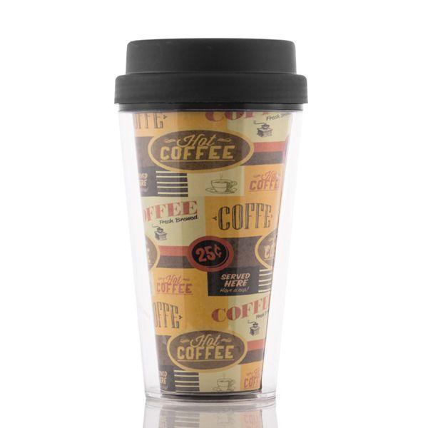 Kubek do kawy z pokrywką i podwójną ścianką zdjęcie 4