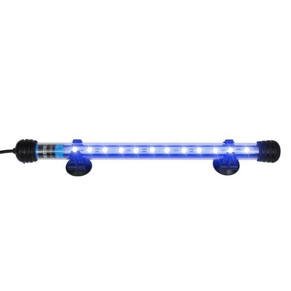 Lampa Oświetlenie Led Do Akwarium Niebieska Led 28cm