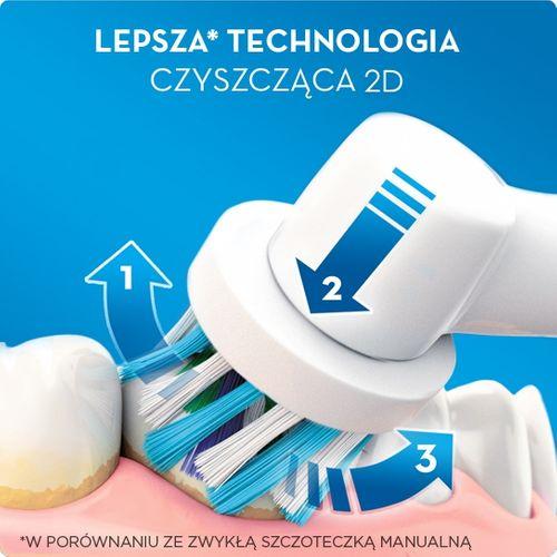 Szczoteczka Oral-B Vitality 3D White + 16 końcówek zapas na Arena.pl