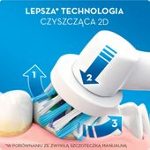Szczoteczka Oral-B Vitality 3D White + 16 końcówek zapas zdjęcie 2