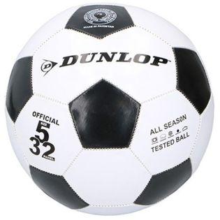Dunlop - Piłka do nogi 23cm (Czarna)