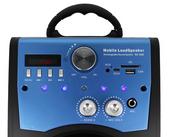 Głośnik Miniwieża Boombox 60W LED Bluetooth + Mikrofon RX-S50 G208Z zdjęcie 3