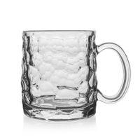 Szklanka z uchem duży kubek szklany kufel 0,39L