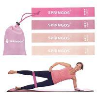 Zestaw 4 gum do ćwiczeń fitness