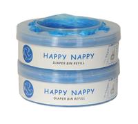 Wkład Happy Nappy do Tommee Tippee Sangenic, Sangenic TEC, Twist & Click 2-Pak