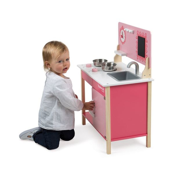 kuchnia drewniana mademoiselle janod rozmiar uniw kuchnie i akcesoria. Black Bedroom Furniture Sets. Home Design Ideas