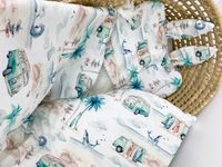 Komplet z tkaniny 100% bawełnianej premium