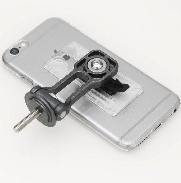 Uchwyt do telefonu na kierownice motor skuter rower mocny sztywny ALU zdjęcie 7