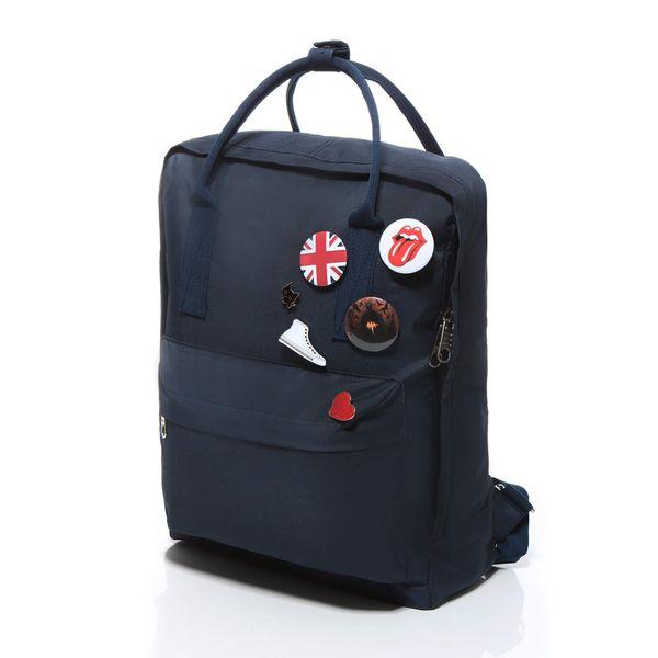 Plecak jak kanken CLASSIC vintage damski młodzieżowy granatowy zdjęcie 6