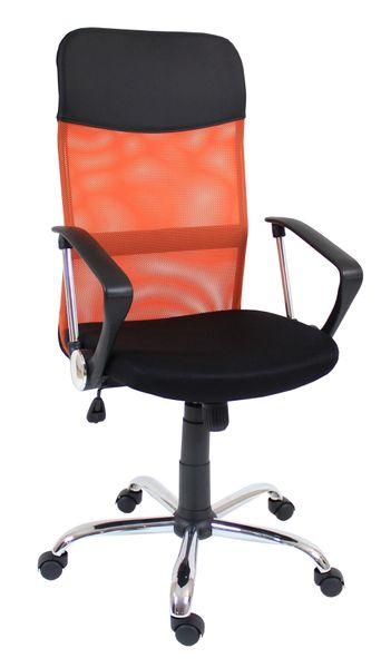 Fotel obrotowy krzesło biurowe kolor pomarańczowy qzy-2501 zdjęcie 1