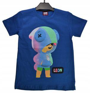 Koszulka Leon chaber, bawełna roz.116