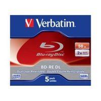 BD-RE DL Verbatim 2x 50GB (Jewel Case 5) Blu-Ray