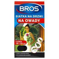 Bros Siatka na drzwi na owady czarna - 140 x 220 cm