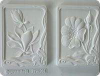 Forma do odlewów - Odlewy gipsowe- Obrazki magnolia i anemon (2714064)