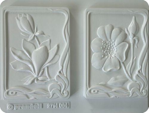 Forma do odlewów - Odlewy gipsowe- Obrazki magnolia i anemon (2714064) na Arena.pl