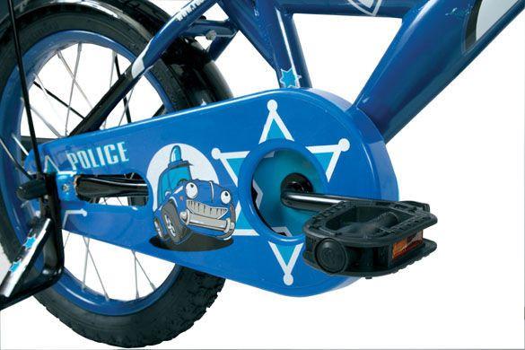 """Rower dziecięcy ROCK KIDS POLICE 20"""" niebieski zdjęcie 6"""