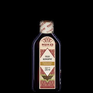 Olej konopny 250 ml tłoczony na zimno