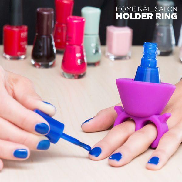 Pierścień na Lakier do Paznokci Nail Salon zdjęcie 1