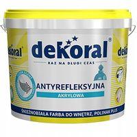 Dekoral Polinak - Śnieżnobiała farba na sufity 5L