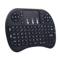Klawiatura smart TV mini bezprzewodowa i8+ mysz Kolor - Czarny