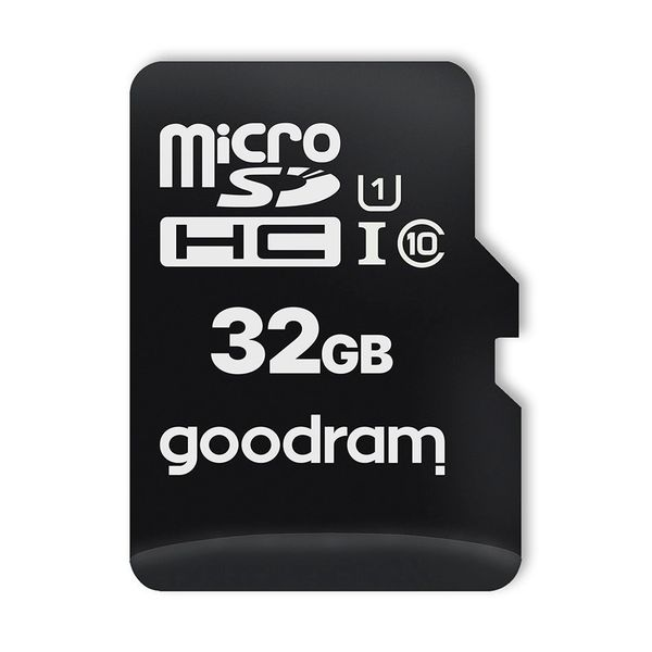 Goodram Microcard 32 Gb Karta Pamięci Micro Sd Hc Uhs-I Class 10, Adapter Sd (M1Aa-0320R12) na Arena.pl
