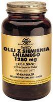 SOLGAR Olej z siemienia lnianeg 1250 mg, 90 kaps