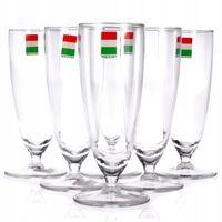 Kieliszki szklanki 6 szt. Cerve Szampan 175 ml