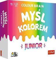 Gra Colour Brain Myśl kolorem Junior Trefl