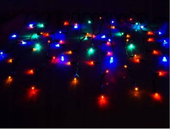 Sople Zewnętrzne 500 Led Lampki Choinkowe