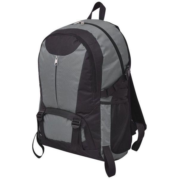 Plecak Turystyczny 40 L Czarny I Szary zdjęcie 1