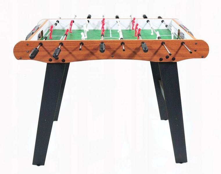 Piłkarzyki duży drewniany stół do gry Ecotoys zdjęcie 2