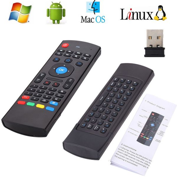 Pilot smart tv MX3 Android Box klawiatura 3w1 zdjęcie 5
