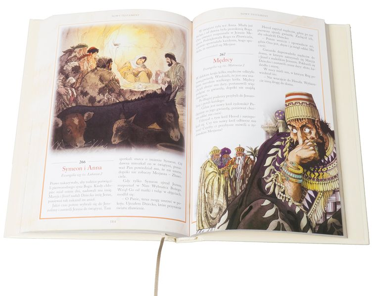 BIBLIA DLA DZIECI 365 HISTORII z grawerem PAMIĄTKA CHRZTU KOMUNII zdjęcie 6