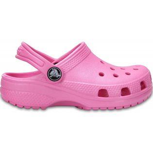 Crocs dla dzieci Crocband Classic Clog K Kids różowe 204536 6I2 34-35