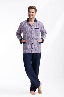 Piżama męska z tkaniny LUNA kod 780 roz. 4XL
