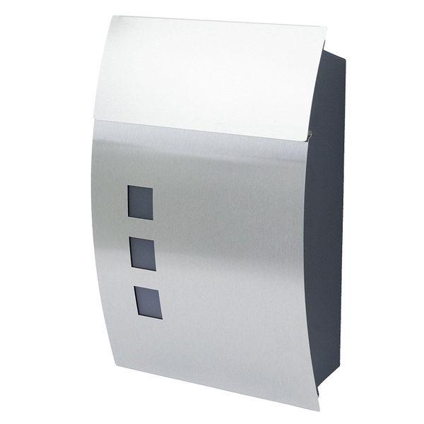 Zamykana skrzynka pocztowa na listy gazety ze stali szlachetnej MB05 zdjęcie 1