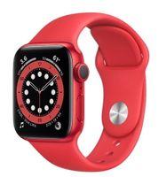 Apple Zegarek Series 6 GPS + Cellular, 44mm koperta z aluminium z edycji (PRODUCT)RED z paskiem sportowym z edycji (PRODUCT)RED - Regular