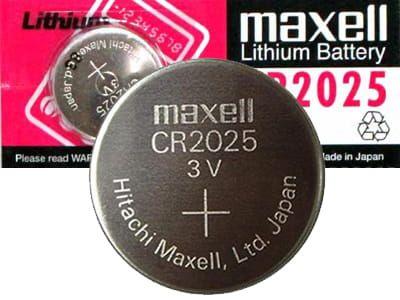 Bateria litowa 3V CR2025 Maxell