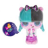 Pop Pop Hair Surprise - Zestaw z laleczką i pupilkiem 3w1 - Roll - Seria 1