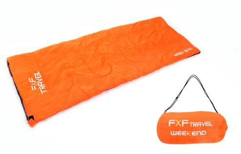 Śpiwór turystyczny Weekend Orange 3-17 C ciepły