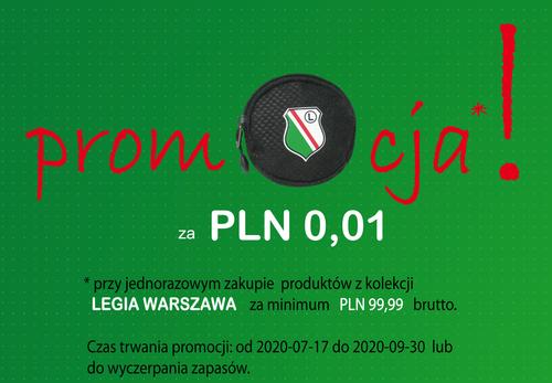 Saszetka na ramię  LEGIA WARSZAWA LE-4826 na Arena.pl