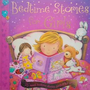Bedtime Stories for Girls. Hardback
