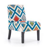 FIDO HALAMR salonowy fotel wypoczynkowy wygodne krzesło gabinetowe