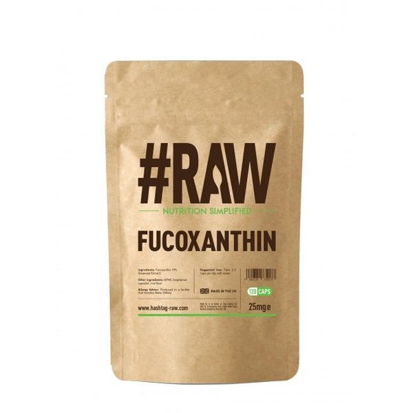 RAW Fucoxanthin 120kap wege Fukoksantyna Spalacz na Arena.pl